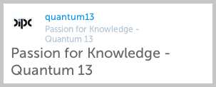 Quantum 13 - Passion for Knowledge
